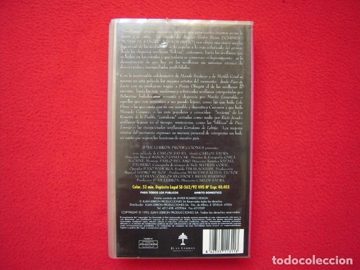 Cine: SEVILLANAS - PELICULA EN VHS DE CARLOS SAURA - Foto 2 - 177978963