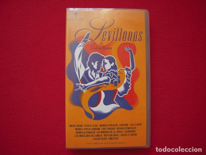 SEVILLANAS - PELICULA EN VHS DE CARLOS SAURA (Cine - Películas - VHS)