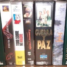 Cine: LOTE DE PELICULAS EN VHS. Lote 178127103
