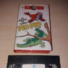 Cine: VHS - LAS AVENTURAS DEL PAJARITO PÍO PÍO. Lote 178189646