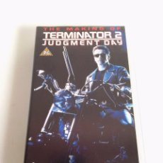Cine: TERMINATOR 2 THE MAKING OF VHS. Lote 178308390
