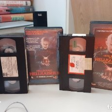 Cine: VHS LOTE HELLRAISER 1, 2 Y 3 - ANTHONY HICKOX. Lote 178359940