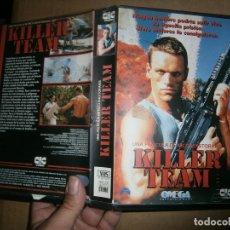 Cine: KILLER TEAM¡¡VHS CAJA GRANDE . Lote 178386296