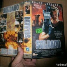 Cine: SOLDADO CAJA GRANDE VHS. Lote 178386368