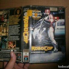 Cine: ¡¡ROBOCOP,,VHS,,1 EDUCION,,CAJA GRANDE¡¡. Lote 178387855