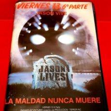 Cine: VIERNES 13 6 ª PARTE: JASON VIVE (1986) - FRIDAY THE 13TH PART VI: JASON LIVES. Lote 178394602
