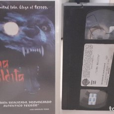 Cine: VHS LUNA MALDITA - MICHAEL PARE - TERROR (E2). Lote 178622872