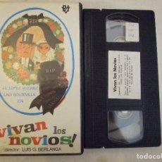 Cine: VIVAN LOS NOVIOS - LUIS G. BERLANGA - J. L. LOPEZ VAZQUEZ , LALY SOLDEVILLA - RM. Lote 178709990