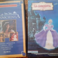Cine: LOTE 2 VHS CENICIENTA. Lote 178861230