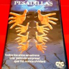 Cine: PESADILLAS (1983) NIGHTMARES VHS HISTORIAS TERROR TIPO CREEPSHOW - JOSEPH SARGENT. Lote 178988420