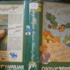 Cine: LOS PITUFOS¡¡1 EDICCION¡¡VHS¡DISPONEMOS,MAS 60.000,PELICULAS.EN¡VHS,BETA,2000¡. Lote 179046162
