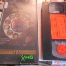 Cine: VHS - TODO SE OLVIDA - 4. Lote 179176688