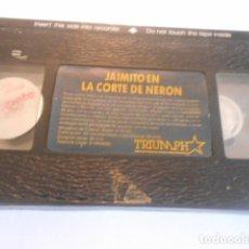 Cine: VHS SIN CARATULA SOLO CINTA - JAIMITO EN LA CORTE DE NERON - 6. Lote 179176922