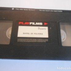 Cine: VHS SIN CARATULA SOLO CINTA - BARRIL DE POLVORA - 9. Lote 179177162