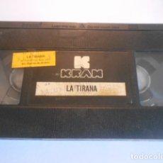Cine: VHS SIN CARATULA SOLO CINTA - LA TIRANA - 10. Lote 179177218