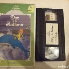 Cine: DOT Y LA BALLENA - ANIMACION - YORAM GROSS - AS DISTRIBUCIONES 1987. Lote 179186390