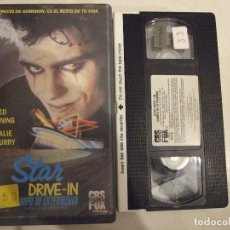 Cine: STAR DRIVE IN CAMPO DE EXTERMINIO - BRIAN TRENCHARD - NED MANNING , NATALIE MCCURRY - CBS 1988. Lote 179193058