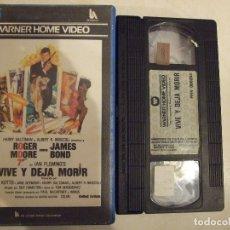 Cine: VIVE Y DEJA MORIR JAMES BOND 007 - GUY HAMILTON - ROGER MOORE , YAPHET KOTTO - WARNER 1985 PERFECTA. Lote 179196271