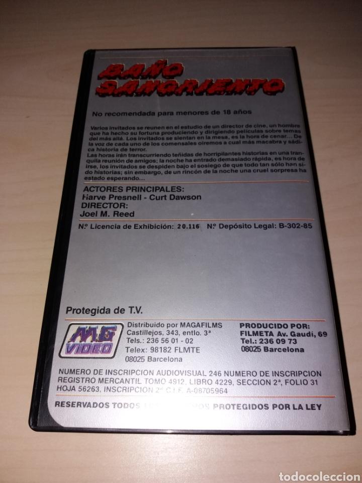 Cine: VHS - BAÑO SANGRIENTO - Foto 2 - 179201253