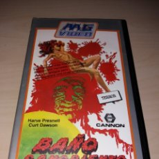 Cine: VHS - BAÑO SANGRIENTO. Lote 179201253