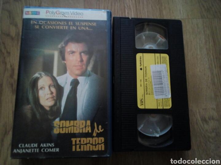 SOMBRA DE TERROR VHS ( ÚNICA EN TC ) (Cine - Películas - VHS)