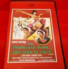 Cine: LA PROFESORA BAILA CON TODA LA CLASE (1979) - ALVARO VITALI - 1ª EDICIÓN JOSE FRADE. Lote 179341152