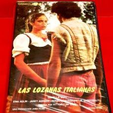 Cine: LAS LOZANAS ITALIANAS - ORNELLA MUTI, RENZO MONTAGNANI, JANET AGREEN. DESCATALOGADISIMA!. Lote 179341166