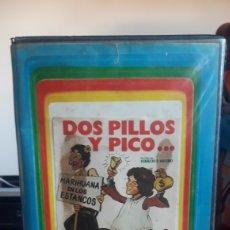 Cine: DOS PILLOS Y PICO VHS (MAJOR ) MUY DIFICIL. Lote 179400292