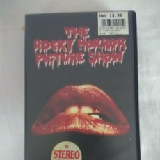 Cine: VHS TERROR/THE ROCKY HORROR PICTURE SHOW/ORIGINAL EN INGLES. . Lote 179526536