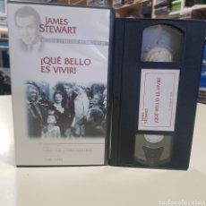 Cinéma: QUÉ BELLO ES VIVIR- VHS DE SEGUNDAMANO. Lote 179962441