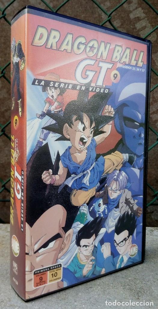 DRAGON BALL GT 9 EPISODIOS 25,26 Y 27 PRIMERA ÉPOCA (Cine - Películas - VHS)