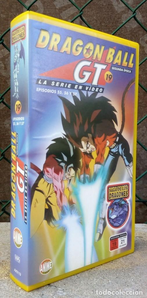 DRAGON BALL GT 19 *** LA SERIE EN VIDEO EPISODIOS 55,56 Y 57 SEGUNDA ÉPOCA (Cine - Películas - VHS)