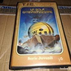Cine: LA BOLA EXTRATERRESTRE- VHS ORIGINAL RAREZA ÚNICA EN TODOCOLECCION!. Lote 180087510
