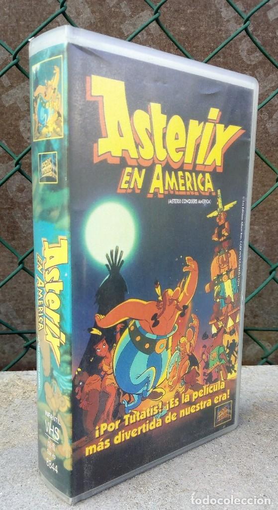 ASTERIX EN AMÉRICA (Cine - Películas - VHS)