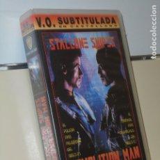Cine: DEMOLITION MAN STALLONE V.O. CON SUBTITULOS EN CASTELLANO - VIDEO VHS. Lote 180126790