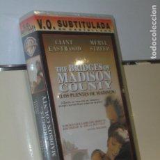 Cine: THE BRIDGES OF MADISON COUNTY V.O. CON SUBTITULOS EN CASTELLANO - VIDEO VHS. Lote 180127866