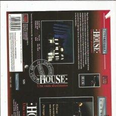 Cine: HOUSE UNA CASA ALUCINANTE . Lote 180128201