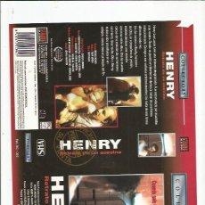 Cine: HENRY RETRATO DE UN ASESINO. Lote 180128402