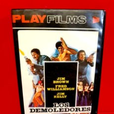 Cine: LOS DEMOLEDORES (1974) - THREE THE HARD WAY - PLAY FILMS. Lote 180183688