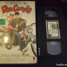 Cine: DON CAMILO - TERENCE HILL - COLIN BLAKELY , MIMSY FARMER - RCA 1989. Lote 180191861