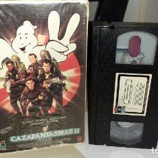 Cine: VHS LOS CAZAFANTASMAS II - IVAN REITMAN (4M). Lote 180313085