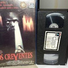 Cine: VHS LOS CREYENTES - MARTIN SHEEN - TERROR SOBRENATURAL (4M). Lote 180315422