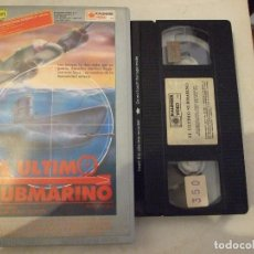 Cine: EL ULTIMO SUBMARINO - DUILIO GORETTI - LOIS MAXWELL , FOLCO LULU - KALENDER 1986. Lote 180345466