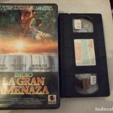 Cine: INDIO LA GRAN AMENAZA - ANTONIO MARGHERITI - BRIAN DENNEHY , FRANCESCO QUINN - RECORD 1990. Lote 180347800