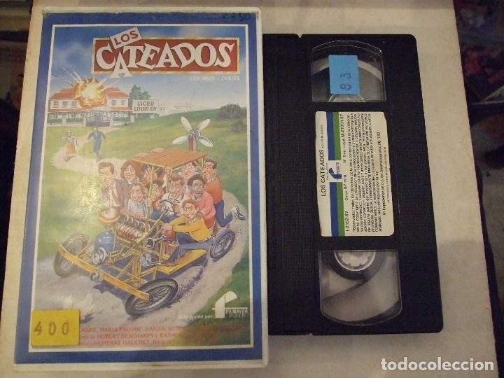 LOS CATEADOS - CLAUDE ZIDI - MICHEL GALABRU , MARIA PACOME - FILMAYER 1987 (Cine - Películas - VHS)