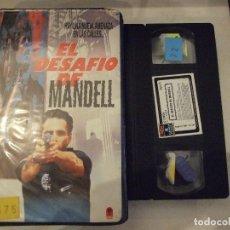 Cine: EL DESAFIO DE MANDELL - LARRY SHAW - KEN OLIN , GLYNNIS O'CONNOR - RCA 1989. Lote 180349636