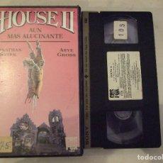Cine: HOUSE 2 II - ETHAN WILEY - JONATHAN STARK , ARYE GROSS - CBS 1987. Lote 180389585