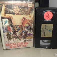 Cine: VHS ESCALERA DE GIGANTES - GUIDO MALATESTA (E3). Lote 180867972