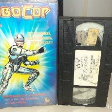 Cine: VHS ROBOCOP - DIBUJOS ANIMADOS. Lote 180926788