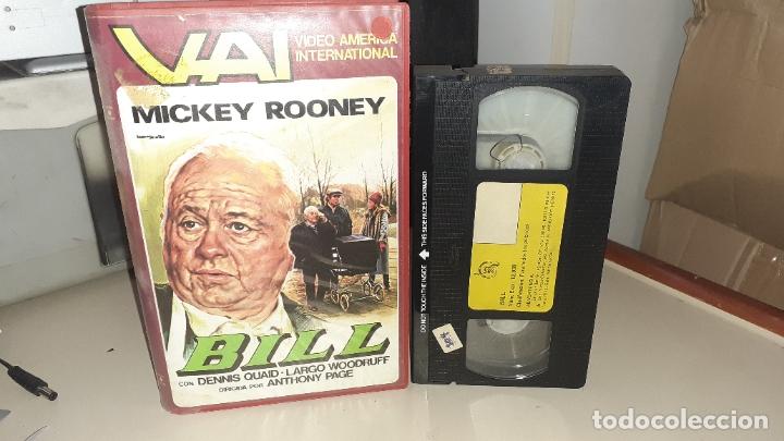 VHS BILL - MICKEY ROONEY (Cine - Películas - VHS)